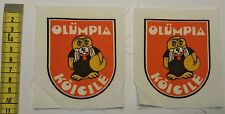 1980 MOSCOW OLYMPIC GAMES SAILING REGATTA OLYMPICS YACHTING MASCOT PATCHES
