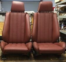 BMW e30 325i 318i New Front Seats For IS and I (1987-92) Cardinal Red $1300.00