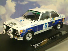 SUNSTAR SUN STAR 1/18 FORD ESCORT RS1800 #6 GAGNANT ACROPOLE RALLY 1977 4495