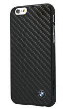 Premium Cover Real Carbon Fiber Hard Case BMW Apple iPhone 6 6s Black