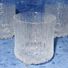 "exzellente Erhaltung! IITTALA ""ULTIMA THULE""___Wasserglas/Glas, 200 ml - 3x da"