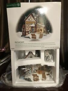 Department 56 Otter Creek Sawmill New England Village Series 56653 Boxed 2001