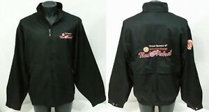 NHL Jacket  Detroit Red Wings Hockey Mens Size XL Sewn Zip ENERGY Sponsor NWT