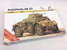 Italeri 6603 Model Assault Tank 'Autoblinda AB43' Scale 1:48 - model kit