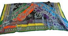 Hermes Carre 140 Stole Shawl Scarf Cashmere Silk Brides et Gris Gris Auth Rare