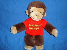 Curious George 1990 Plush Gund Monkey 12""