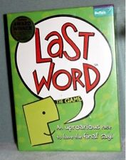 Last Word The Game (Buffalo Games) NEW & SEALED