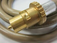 "BROMIC 3M gas hose 1/2"" BSP bayonet coupling for old RINNAI Heater AustraliaMade"