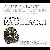 Leoncavallo: Pagliacci New cd Andrea Bocelli, Martinez 2007 Decca