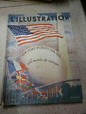 L'illustration n° 5023 10 juin 1939 exposition internationale de New York