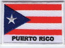 écusson ECUSSON BRODE PATCHE PATCH DRAPEAU PUERTO PORTO RICO 7 X 5 CMS