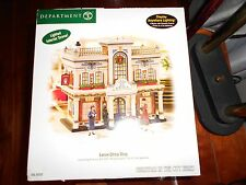 DEPT 56 CHRISTMAS IN THE CITY LENOX CHINA SHOP NIB
