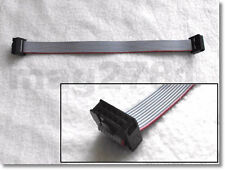 ** 10 WAY RIBBON CABLE WITH IDC FEMALE CONNECTORS - 1 METRE LONG **