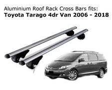 Aluminium Roof Rack Cross Bars fits Toyota Tarago with existing rails 2006-2018