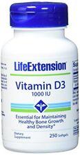 Life Extension Vitamin D3 1000 IE 250 Softgel