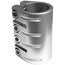 Defiant Scooter Clamp Quade Clamp Silver 33.3mm