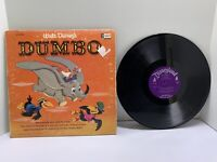 Walt Disny's Dumbo ST 3904 Vinyl LP with booklet