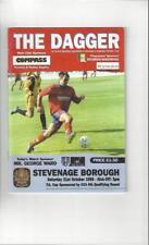 Dagenham & Redbridge v Stevenage Borough FA Cup 1998/99 Football Programme