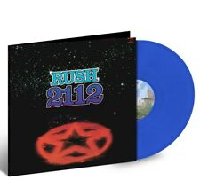 Rush 2112 limited edition opaque blue 180-gram vinyl with only 5,000 made