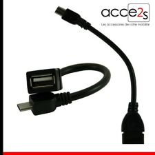 Câble OTG USB Host On The Go Pour Sony XPERIA M