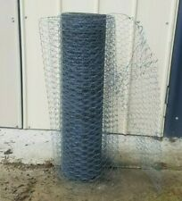 Hexagonal  wire mesh netting fencing 100m roll 750mm H X 25mm opening Del Avail