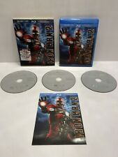 Iron Man 2 Blu-ray/DVD, 2010, 3-Disc Set, Digital Copy With Slipcover And Insert