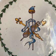 céramique faïence de Nevers révolutionnaire 18eme XVIIIeme siècle 18th Century