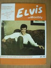 ELVIS MONTHLY COLLECTORS SPECIAL NUMBER 12 1985 ELVIS PRESLEY
