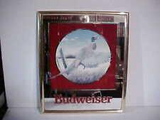 Anheuser-Busch 1992 Budweiser Beer Wildlife Series Mirrored Sign Pheasant