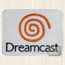 Dreamcast Logo Embroidered Patch Vintage Computer Console Sonic Arcade Sega