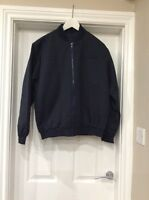 BNWT Mens Very Smart Bomber Jacket In Navy blue Size Small