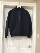 BNWT Mens Very Smart Bomber Jacket In Navy/black Size Small