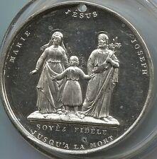 Canada - 1793  - Marie - Joseph & Jesus Temperance Medal - Lot EC# 2476