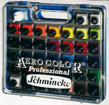 Schmincke AERO COLOR Professional Kunststoffkoffer große Farbauswahl