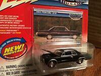 1965 pontiac GTO Black    2004  JOHNNY LIGHTNING 1/64 muscle cars  series