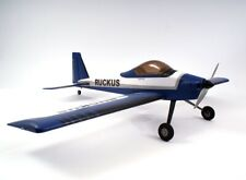 Max-Thrust Ruckus RC Remote Radio Control Plane Blue Plug & Play (PNP) New Boxed