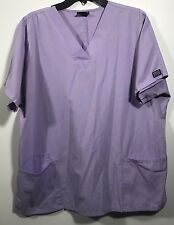 Cherokee Workwear V-Neck Unisex Nurse Scrub Top Size L Pre-owned-D200