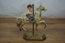 Carousel Memories Horse Child Americana Collection Willitts Limited Edition 4192