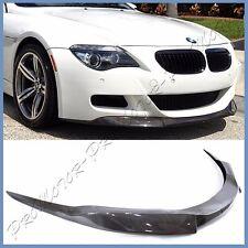 V Type Carbon Fiber Front Bumper Lip Body Kit For 06-10 BMW E64 E63 M6 Coupe 2DR