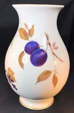 "Royal Worcester Evesham Gold Chloe Vase 8 1/2"""