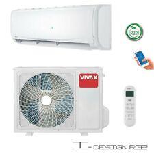 VIVAX Split Klimaanlage I-Design 12000BTU Klimagerät R32 A++ Inklusive WIFI