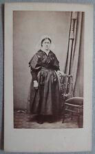 Photo Capelle à St Brieuc Carte de Visite Bretonne Bretagne Vers 1865