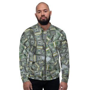 Money 100's Rich Unisex Bomber Jacket
