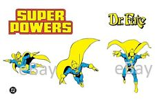1988 Super Powers DOCTOR FATE Model Art : Justice League