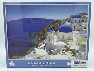 1000 pieces Aegean Sea Jigsaw Puzzle 70cm x 50cm - Aussie Outlet Online