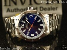 Invicta Men's Specialty 45mm Blue Dial Stainless Steel Watch With 1 Slot Case
