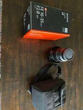 Sony FE 13-35mm F2.8 GM Lens SEL1635GM Minimal Use