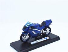 Welly 1:18 Honda NR Blue MOTORCYCLE BIKE DIECAST MODEL TOY NEW IN BOX
