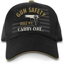Gun Safety Rule #1 NRA Hat Cap