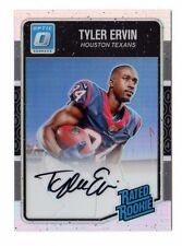 TYLER ERVIN NFL 2016 DONRUSS OPTIC RATED ROOKIES AUTO HOLO (TEXANS,RAVENS) #/99